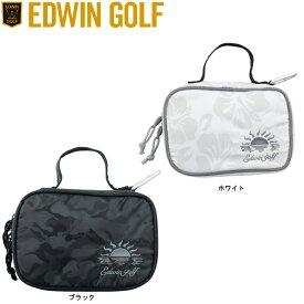 【送料無料 メール便】EDWIN エドウィン ゴルフ ラウンドポーチ EDWIN-933RP