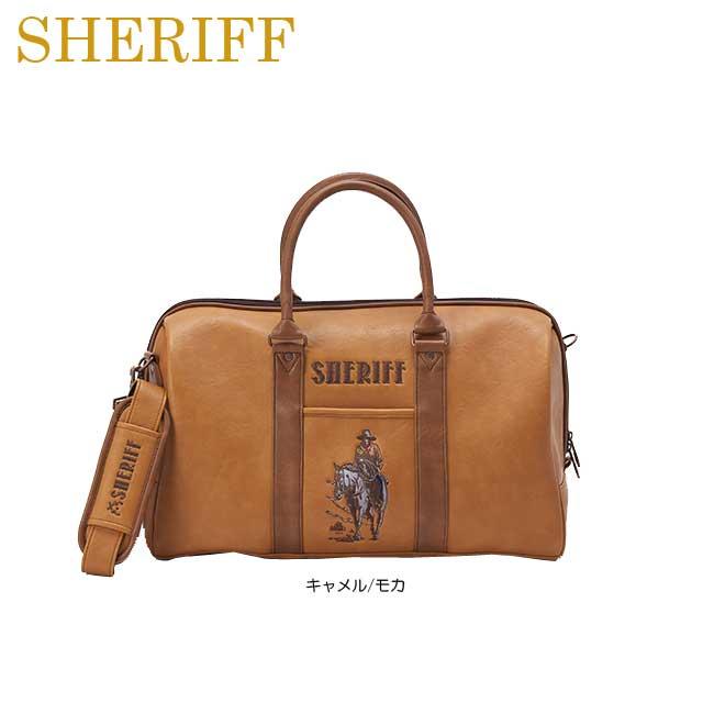 【送料無料】【2018年モデル】【ウエスタンシリーズ】SHERIFF シェリフ 数量限定モデル ボストンバッグ SFW-008