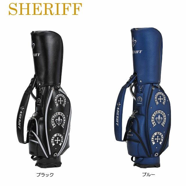 【送料無料】【2019年モデル】【アクセサリーシリーズ】SHERIFF シェリフ 数量限定モデル カート キャディバッグ SAC-005
