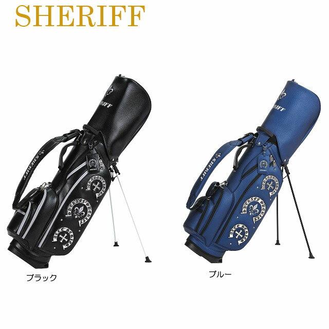 【送料無料】【2019年モデル】【アクセサリーシリーズ】SHERIFF シェリフ 数量限定モデル スタンド キャディバッグ SAC-006