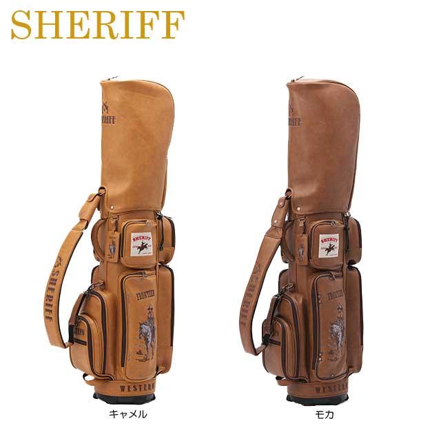 【送料無料】【ウエスタンシリーズ】【2018年モデル】SHERIFF シェリフ 数量限定モデル カート キャディバッグ SFW-008