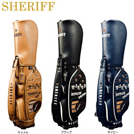【送料無料】【2020年モデル】【ウエスタンシリーズ】SHERIFF シェリフ 数量限定モデル キャディバッグ SFW-011