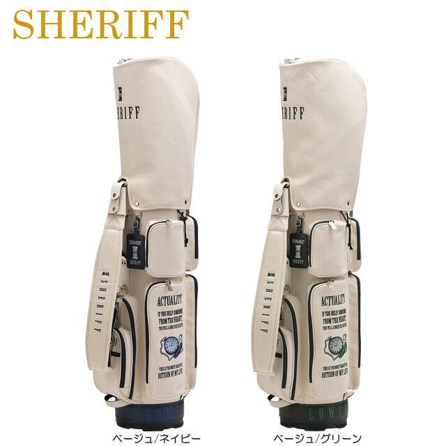 【送料無料】【2018年モデル】【クラシックシリーズ】SHERIFF シェリフ 数量限定モデル コンパクト キャディバッグ SFC-009