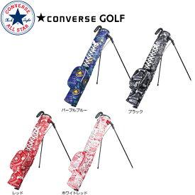【送料無料】CONVERSE GOLF コンバース ゴルフ グラフィック セルフスタンドバッグ スタンド付 クラブケース CS-SSC06