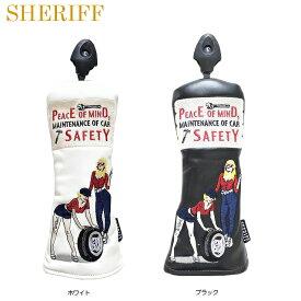 【送料無料】【2019年モデル】【アメリカンシリーズ】SHERIFF シェリフ 数量限定モデル ユーティリティ用 ヘッドカバー SFA-011