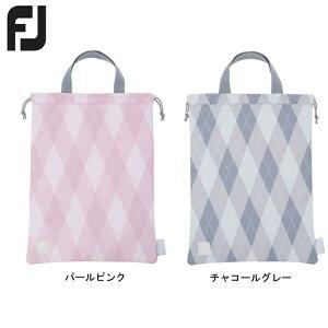 【送料無料 メール便】FOOTJOY フットジョイ FJアーガイルシリーズ シューズバッグ FA19SCSBW