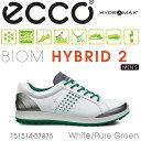 【送料無料】ECCO エコー MEN'S BIOM HYBRID2【151514-57875】 メンズ ゴルフシューズ
