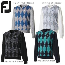 【送料無料】FOOTJOY フットジョイ アーガイルセーター FJ-F17-M61