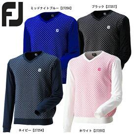【送料無料】 FOOTJOY フットジョイ Vネックセーター FJ-S17-M57