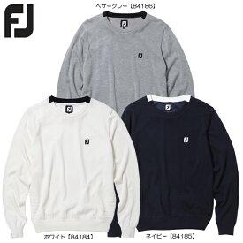 【送料無料】【2020年モデル】 FOOTJOY フットジョイ 防風クルーネックセーター FJ-F20-M08