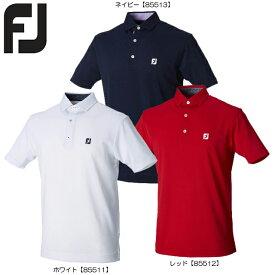 半額以下【送料無料 メール便】 FOOTJOY フットジョイ ペイズリートリム カノコシャツ FJ-S18-S21