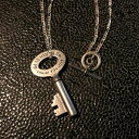GLAD HAND (グラッドハンド) KEY TOP&CHAINネックレス ペンダント トップ チェーン SILVER925 GLAD HAND JEWELRY…