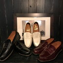 REGAL×GLAD HAND (リーガル×グラッドハンド) MEN'S COIN LOAFERS - SHOESローファー コインローファーBLK BRN WHT…