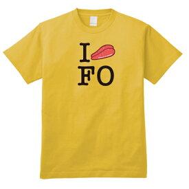 【ご当地ふるさとTシャツ】I LOVE 福岡「辛子明太子」福岡県Tシャツ DDY