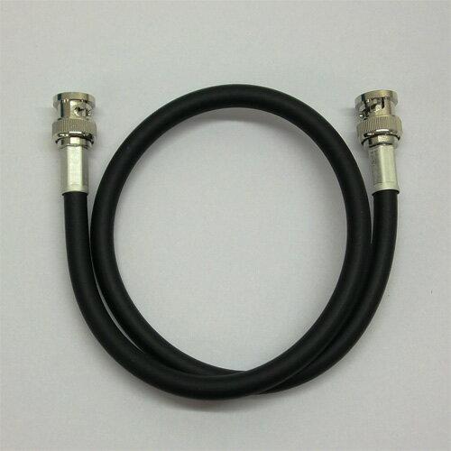 フジクラ製 5D-FB-LITE 黒 10m 両端BNCP付 1本 50Ω無線ケーブル 711-5DF-B-10M