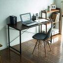 ワークデスク シンプル 平机 ブラウン パソコンデスク 横幅120cm 奥行60cm 100-DESKF004BR サンワサプライ