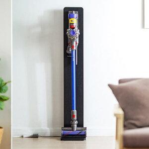ダイソン 掃除機 スタンド V11 V10 V8 Digital Slim デジタルスリム 対応 壁掛け 収納 壁寄 スティッククリーナー 充電設置台 黒 ブラック 200-STAND1BKM サンワサプライ