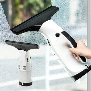 窓ガラスクリーナー 電動 バキューム 結露 カビ対策 コードレス 充電式 掃除機 EEX-CD015