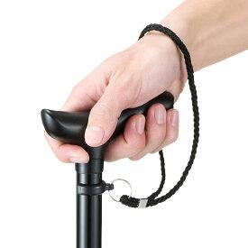 杖 ステッキ 伸縮可能 自立 3点杖 歩行補助 リハビリ 左右 両手 長さ調節 介護用品 高齢者 敬老の日 EEX-ST04