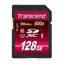 SDカード 128GB Class10 大容量 転送速度 SDXC 長期保証 TS128GSDXC10U1 トランセンド【ネコポス対応】