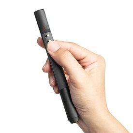 レーザーポインター 緑 パワーポイント powerpoint 70時間連続照射 プレゼンリモコン Bluetooth4.0 PSC認証 電池式 200-LPP037 サンワサプライ
