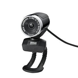 フルHD対応 WEBカメラ 1080p対応 ブラック CMS-V37BK サンワサプライ