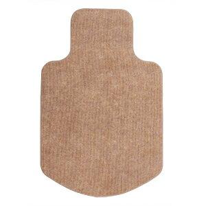 【訳あり 新品】【只今セール価格】床の傷つき防止、カーペット仕様の室内用OAチェア用マット(ブラウン) ※箱にキズ、汚れあり SNC-MAT1BR サンワサプライ