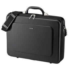 セミハードPCキャリングケース ブラック 15.6型ワイドサイズまで対応 持ち運び バッグ ビジネス 保護 通勤 BAG-EVA7BKN サンワサプライ