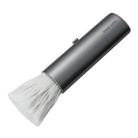 【訳あり 新品】除電ブラシ(スライド式・グレー) CD-BR15GYN サンワサプライ ※箱にキズ、汚れあり【ネコポス対応】