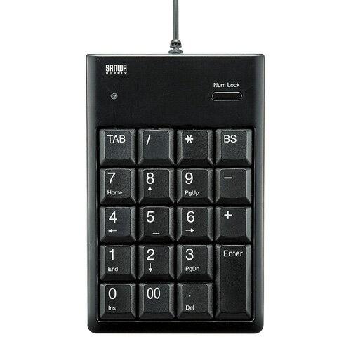 【訳あり 新品】USBテンキー(薄型・ブラック) NT-16UBKN サンワサプライ ※箱にキズ、汚れあり