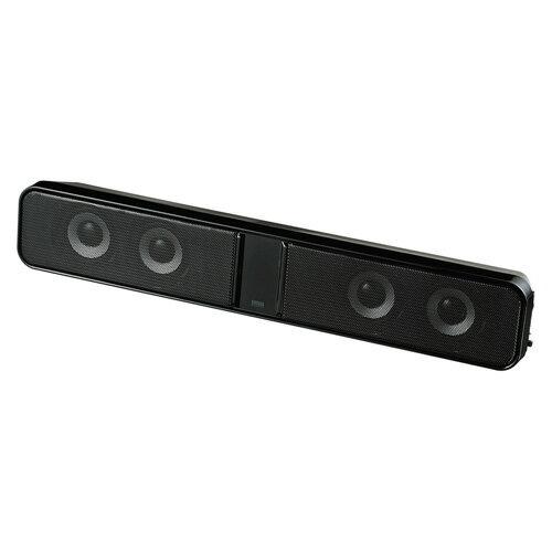 【訳あり 新品】サウンドバースピーカー(液晶テレビ・パソコン用) MM-SPSBA2N サンワサプライ ※箱にキズ、汚れあり