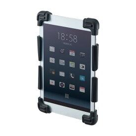 耐衝撃シリコンケース タブレット 7〜8インチ ブラック PDA-TABH5BK サンワサプライ【ネコポス対応】
