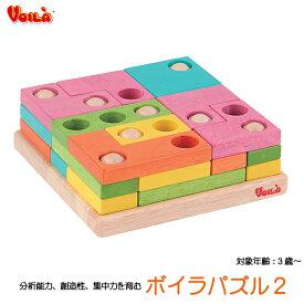 【送料無料】 ボイラパズル2 S329A 立体3層パズル 知育玩具 教育玩具 パズル玩具 知育パズル アナログゲーム 木のおもちゃ ボイラ社 誕生日プレゼント