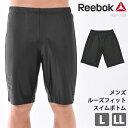 Reebok (リーボック) メンズ フィットネス水着 男性用 ひざ丈 スイムボトム スパッツ型 体型カバー 紳士 サーフパンツ…