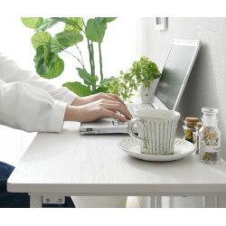 パソコンデスク・折り畳み・省スペース・テレワーク・パソコン・作業台・デスクワーク・折りたたみテーブル・軽量・PCデスク・机・茶色・白・おしゃれ