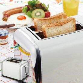 トースター ポップアップトースター パン焼き機 焼き色調節 キッチン家電 トースト 食パン 時間短縮 キッチン 台所 家電 ギフト コンパクト 小型 贈り物 軽量 ポップアップ Toffy ラドンナ シンプル おしゃれ