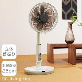 【 クーポン配布中 】 アピックス 扇風機 DCモーター 高さ調節 7枚羽根 CIR001312
