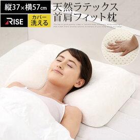【期間限定 ポイント10倍】 【正規品】SLEEP LATEX 枕 高反発 やわらか 約 37×57cm ラテックス BRG000348
