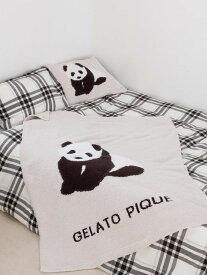 【Sleep】 【ONLINE限定】パンダジャガードハーフケット gelato pique ジェラートピケ その他 その他 ベージュ【送料無料】[Rakuten Fashion]