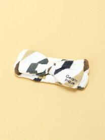 [Rakuten Fashion]スムーズィー5BDヘアバンド gelato pique ジェラートピケ 帽子/ヘア小物 カチューシャ/ヘアバンド ホワイト ピンク