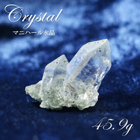【一点もの】マニハール水晶 ヒマラヤ 原石 インド産 45.9g 水晶 天然石 パワーストーン