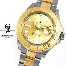 【中古】ロレックス ヨットマスター 16623 D番 YG/SS コンビモデル メンズ 自動巻き 腕時計