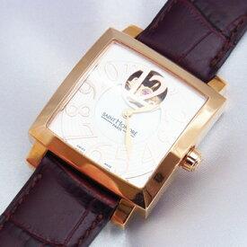 【サントノーレ】オルセーカレミディアム 8810178YBBR 茶 自動巻き男女兼用腕時計【未使用品】