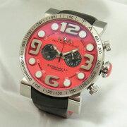 【新品】I.T.A.アイティーエー18.00.08ビー・コンパックス2.0ロッソ日本限定モデルSS×革クォーツメンズ腕時計
