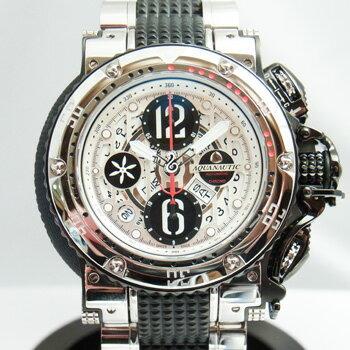 【新品】【展示品につき】アクアノウティック キングクーダ キングサブクロノダイブ KRP0203HWNAT02 ステンレススチール・チタン製 300m防水 ホワイト 47mm クロノグラフ 自動巻メンズ腕時計