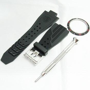 【新品】【展示品につき】アクアノウティックキングクーダキングサブコマンダーKSP00NRNCM00T02ステンレススチール・チタン製300m防水ブラック47mm自動巻メンズ腕時計