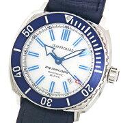【JEANRICHARD】ジャンリシャールアクアスコープ60400-11D705-FB4AホワイトSSブルー自動巻きメンズ腕時計【中古】
