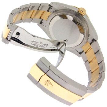 【中古】【未使用品】ロレックススカイドゥエラーコンビブラック326933ステンレス・イエローゴールド製SS/YG自動巻きメンズ腕時計