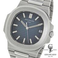 【中古】【美品】パテックフィリップノーチラス5711/1A-010ステンレス自動巻きメンズ腕時計
