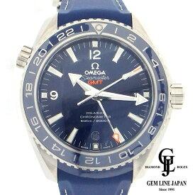 【中古】新品 完全未使用品 オメガ シーマスター プラネットオーシャン 600m GMT 232924422303001 メンズ 腕時計